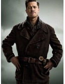 Brad Pitt Inglourious Basterds Wool Coat