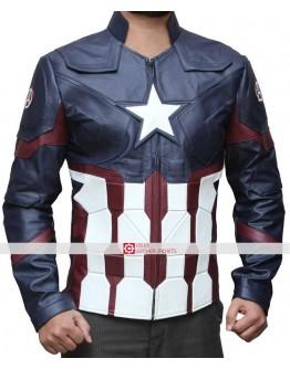Captain America Civil War Chris Evans Jacket