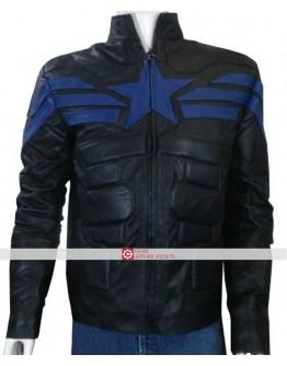 Captain America Winter Soldier Black Jacket
