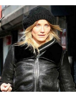 Charlies Angels Cameron Diaz leather Jacket