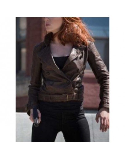 Captain America 2 Scarlett Johansson (Black Widow) Jacket