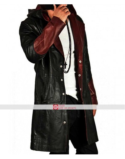 DMC Devil May Cry 4 Dante Distressed Jacket Costume