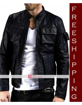 Star Wars Empire Strikes Back Han Solo Leather Jacket