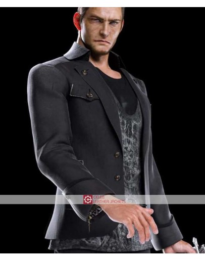 Final Fantasy 15 Cor Leonis Leather Jacket
