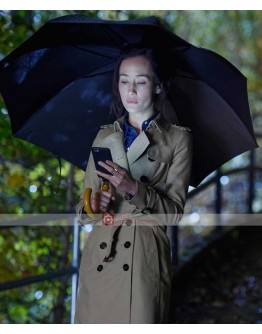 Designated Survivor Maggie Q Hannah Wells Coat