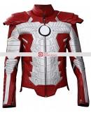 Iron Man 2 Mark V Leather Costume Suit