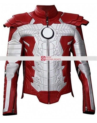 Iron Man 2 Mark V Motorcycle Suit Jacket