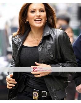 Law & Order Mariska Hargitay Leather Jacket