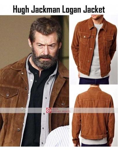 Logan 2017 Movie Hugh Jackman Wolverine Jacket