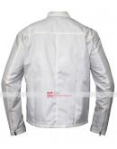 Steve McQueen Le Mans White Gulf Jacket
