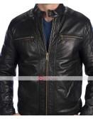 Andrew Marc Laser Moto Leather Jacket