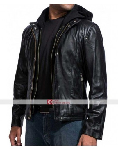 Paul Walker Black Hoodie Jacket