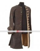 Pirates of Caribbean Johnny Depp Costume Coat