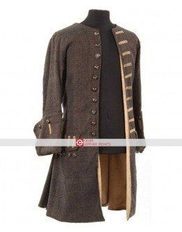Pirates of Caribbean Jack Sparrow Coat