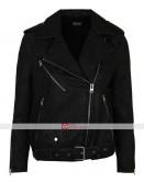 Pretty Little Liars Shay Mitchell Emily Fields Black Jacket