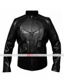 Punisher Frank Castle Skull Black Jacket