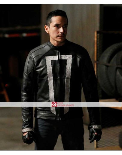 Agents Of Shield Robbie Reyes Ghost Rider Jacket
