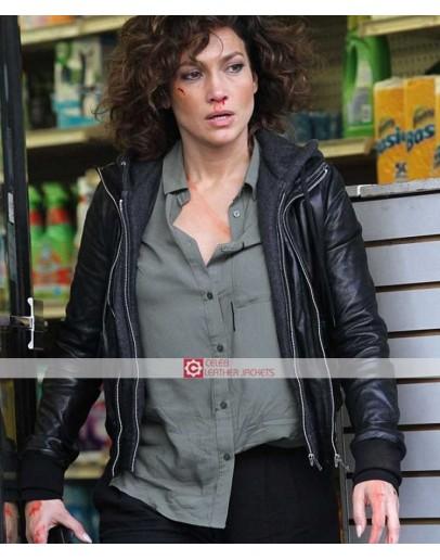 Harlee Santos Shades of Blue Jennifer Lopez Jacket