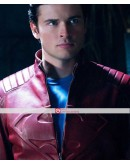 Superman Smallville Red Leather Jacket