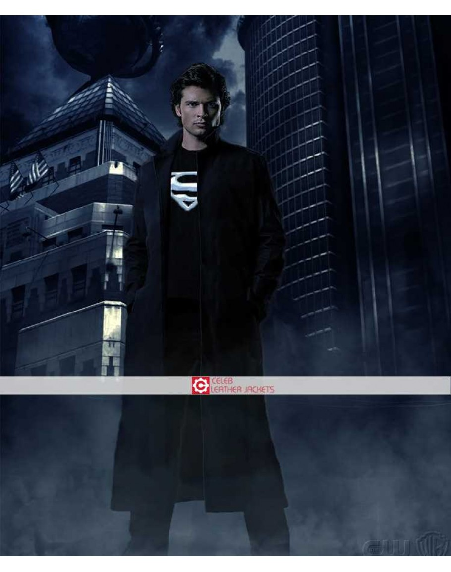 Smallville season 9 coat for Kent superman