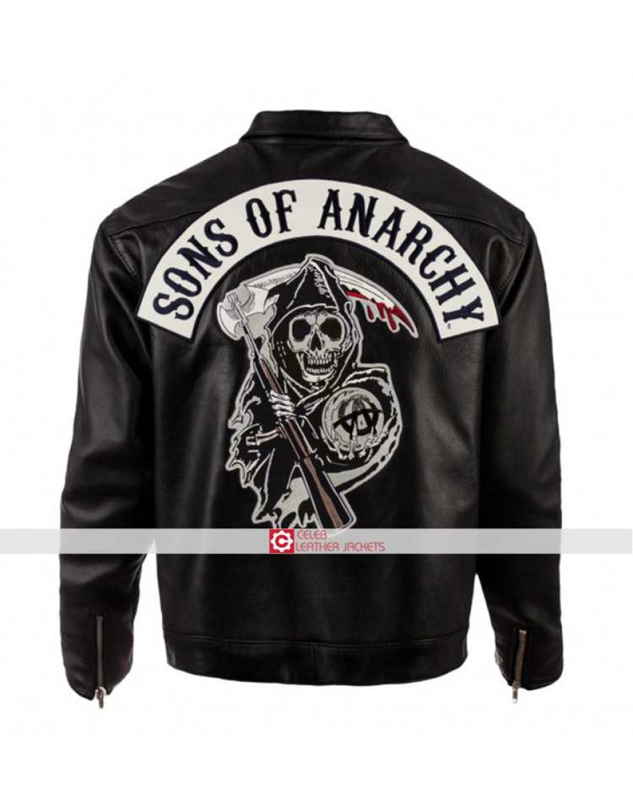 Sons Of Anarchy Leather Jacket Soa Biker Leather Jacket