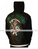 Sons of Anarchy Ireland Fleece Highway Hoodie Jacket