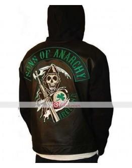 Sons of Anarchy Ireland Fleece Highway Hoodie Jacket