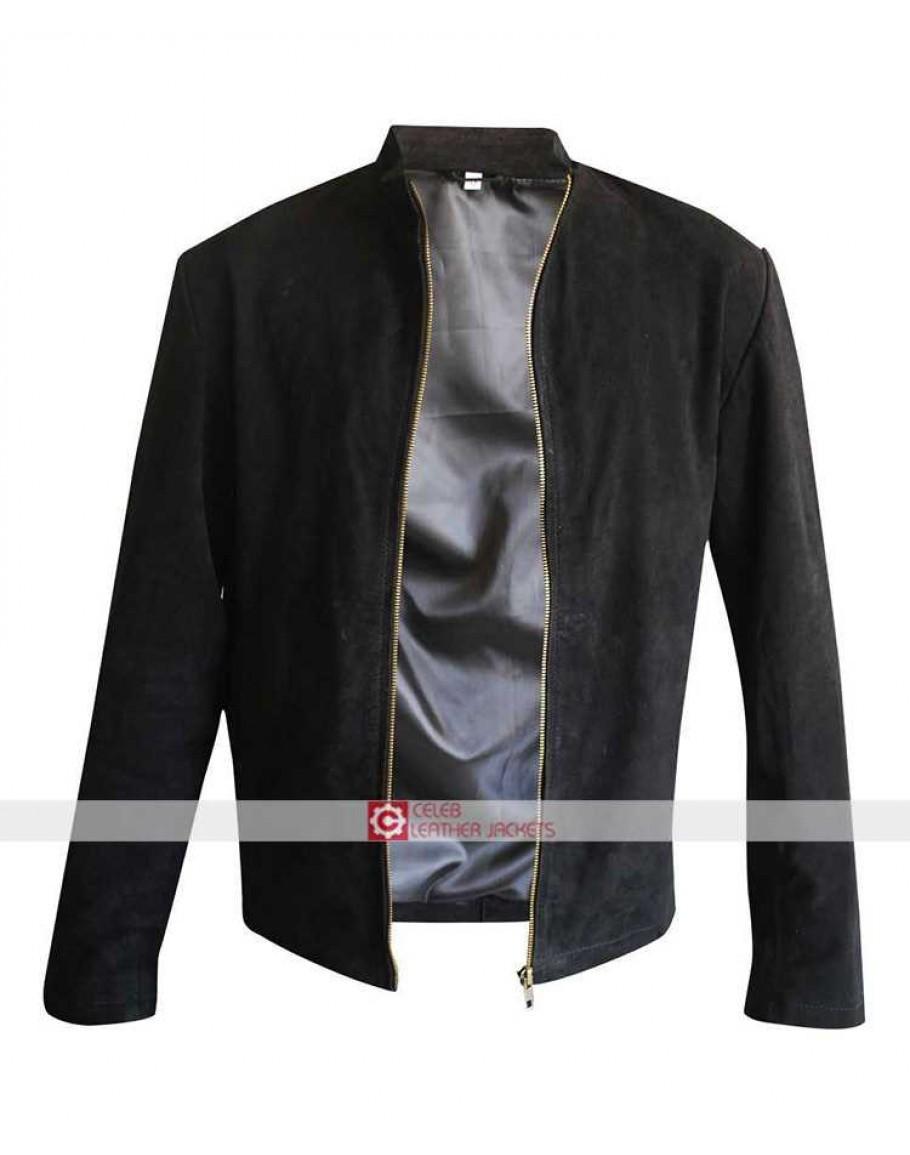 spectre 007 james bond daniel craig black cotton jacket. Black Bedroom Furniture Sets. Home Design Ideas
