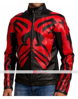 Star Wars 1 Darth Maul Vader Leather Jacket