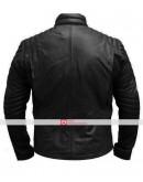 Superman Smallville Black Leather Jacket