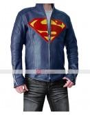Superman Smallville Season 11 Blue Jacket