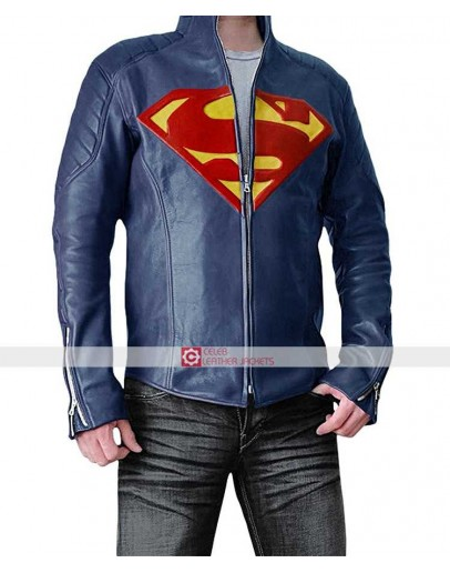 Superman Smallville Season 11 Blue Jacket