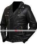 The Walking Dead Negan Saviors Black Jacket