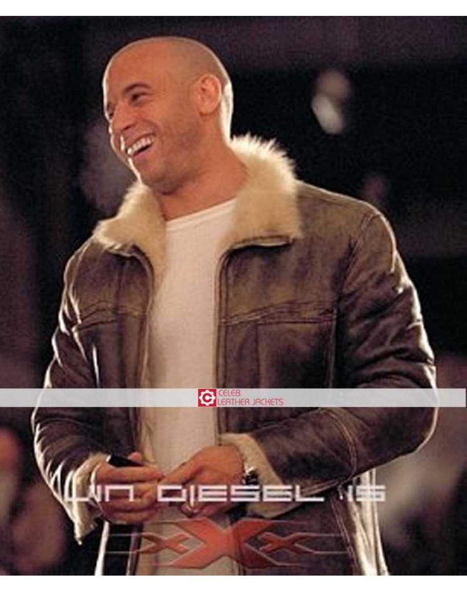 Triple X Vin Diesel Xander Cage Fur Jacket-9456