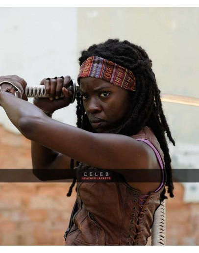 Walking Dead Danai Gurira Michonne Vest