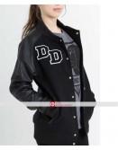 Women Diamond Dogs Letterman Jacket