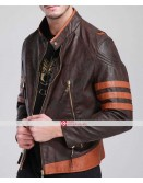 X-Men Wolverine Origins Logan Brown Jacket